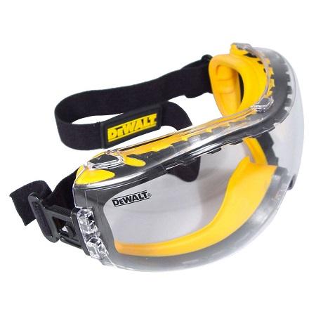DEWALT Goggle Concealer Clear Safety Work Goggle DPG82-11D