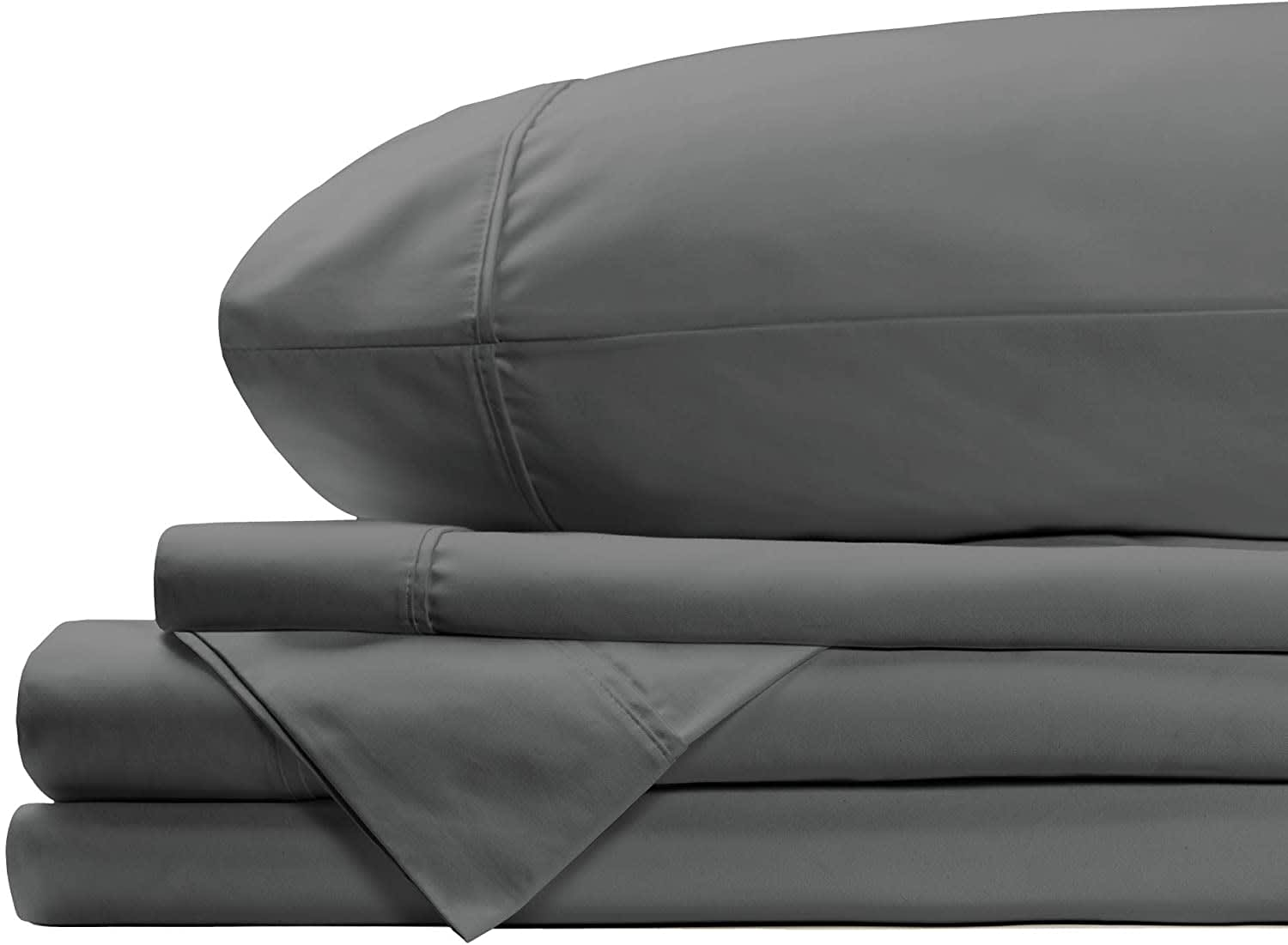 Hyde Lane Cotton Sateen 4-Pc. Queen Sheet Set