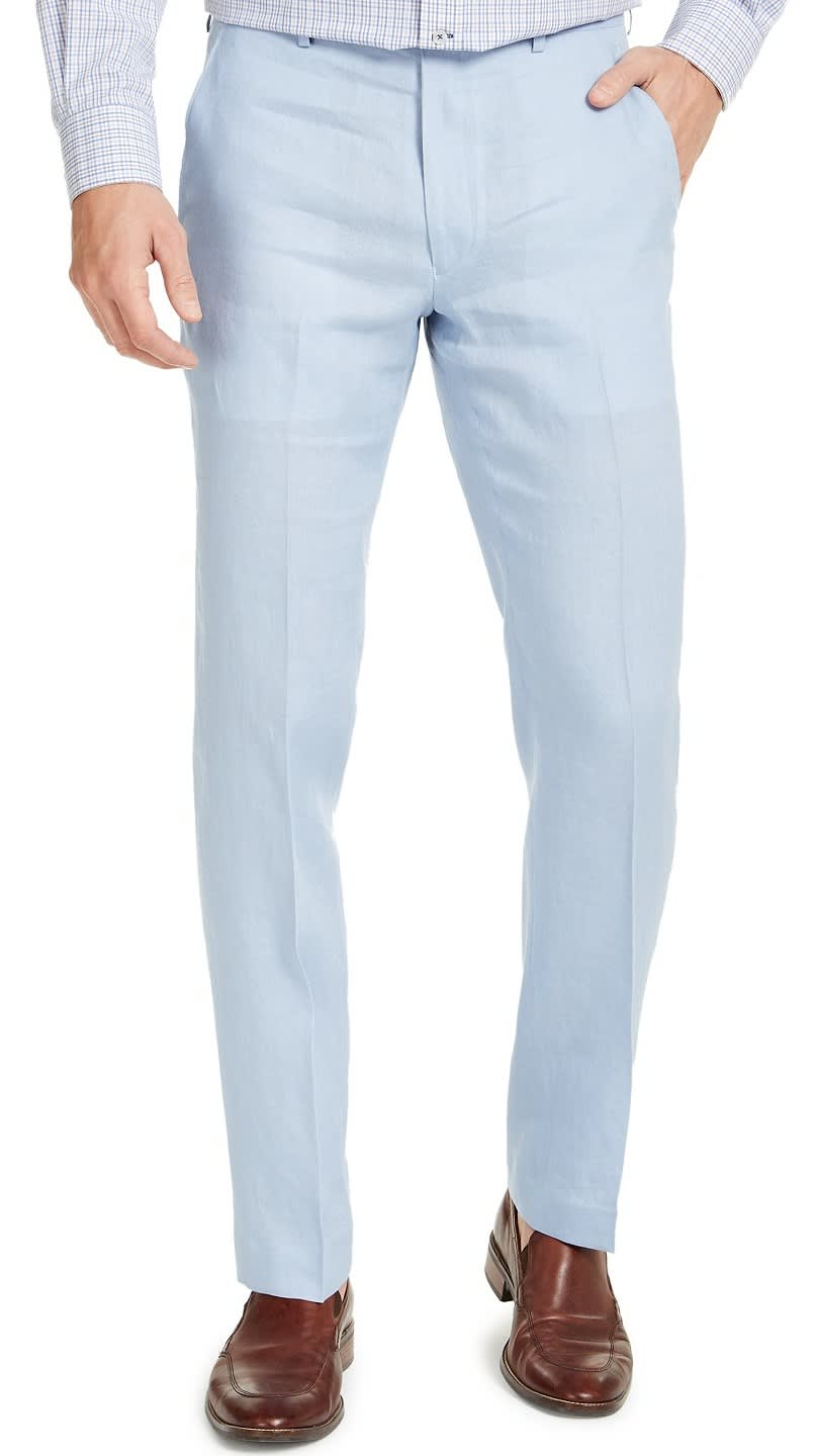 Lauren Ralph Lauren Men's UltraFlex Classic-Fit Linen Pants