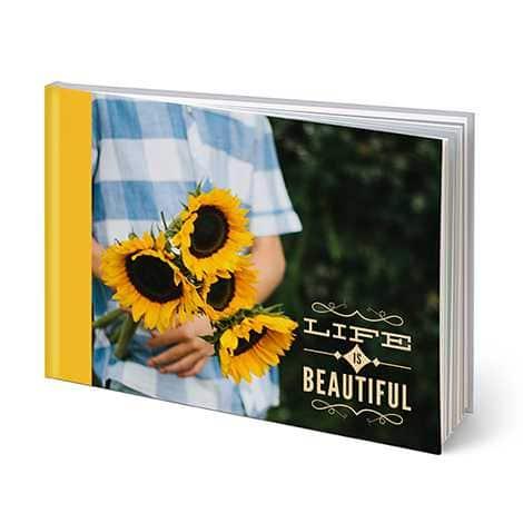 "20-Page Snapfish 8""x11"" Custom Hardcover Photo Book"