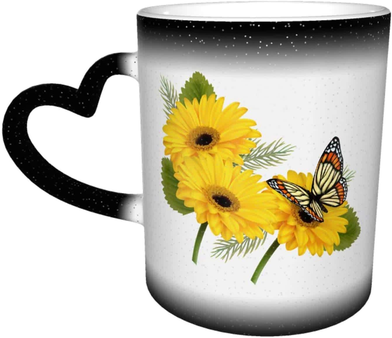 Ousa Ceramic Color-Changing 11-oz. Coffee Mug