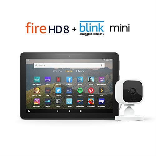 Fire HD 8 Smart Home Bundle including Fire HD 8 Tablet 32 GB Ad-Supported
