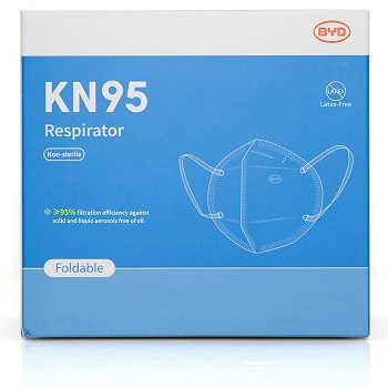 Disposable Respirator Mask with Ear Loop