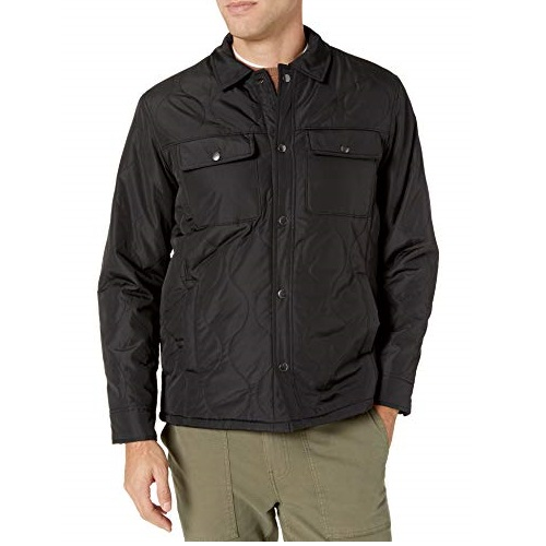 Amazon Essentials Men's Quilted Shirt Jacket