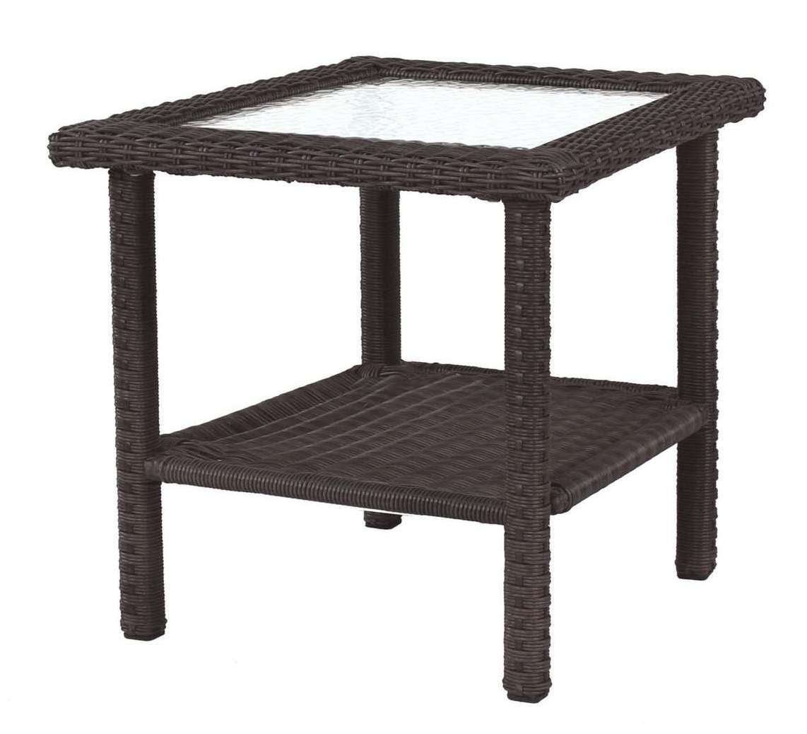 Living Accents Prescott Square Side Table
