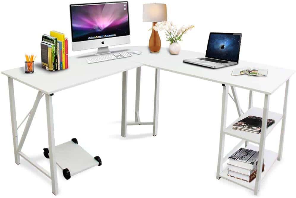 Bizzoelife L-Shaped Computer Desk