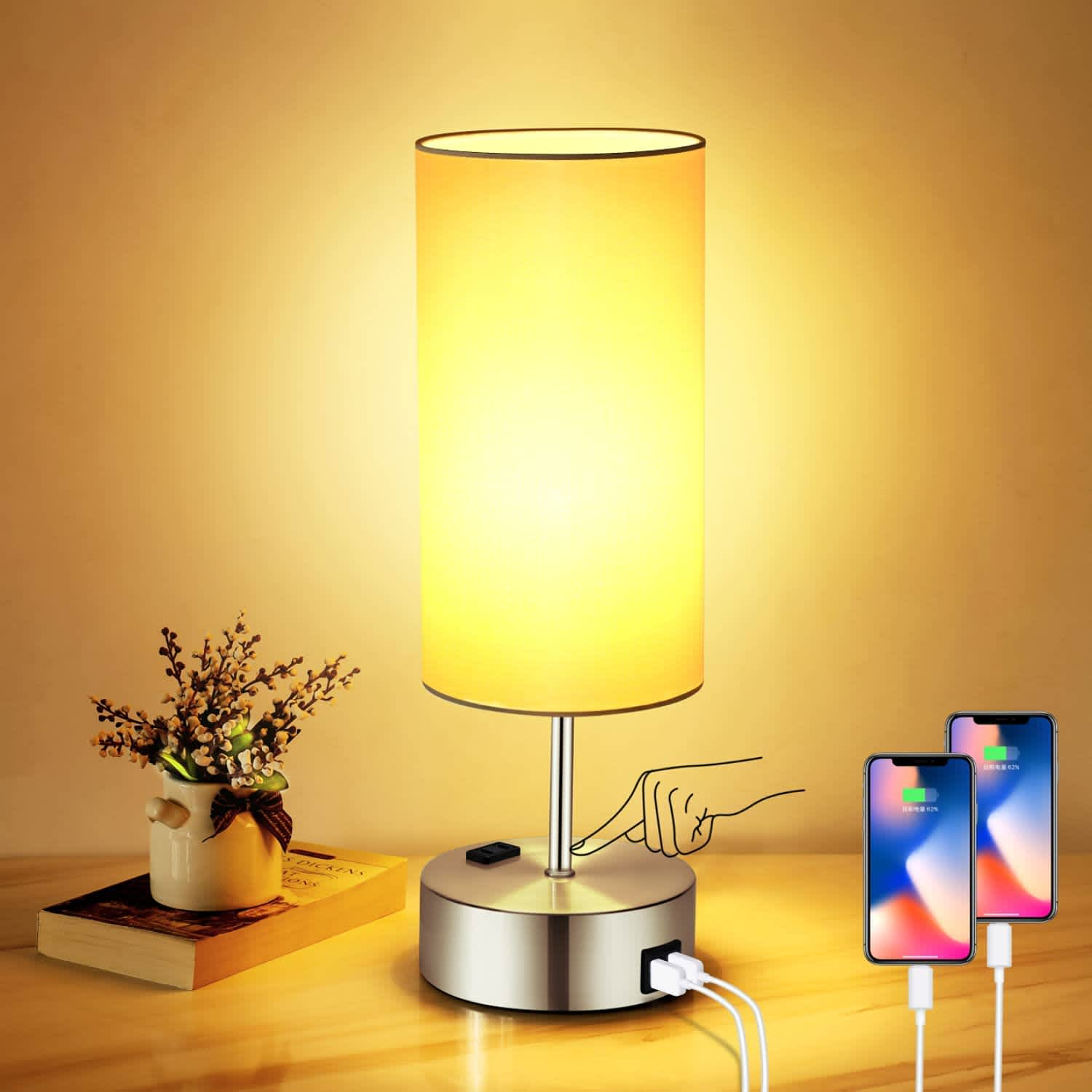 Costube Touch Control LED Table Lamp