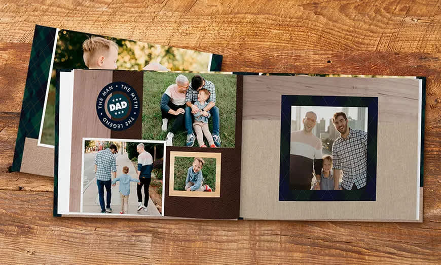 "Shutterfly 8""x 8"" 20-Page Hard Cover Photo Book"