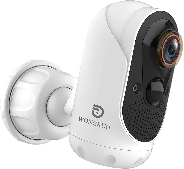 Wongkuo 1080p Wireless Outdoor Security Camera