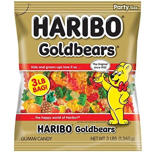 Haribo Goldbears Gummi Candy, 3 Pound Bag, List Price is