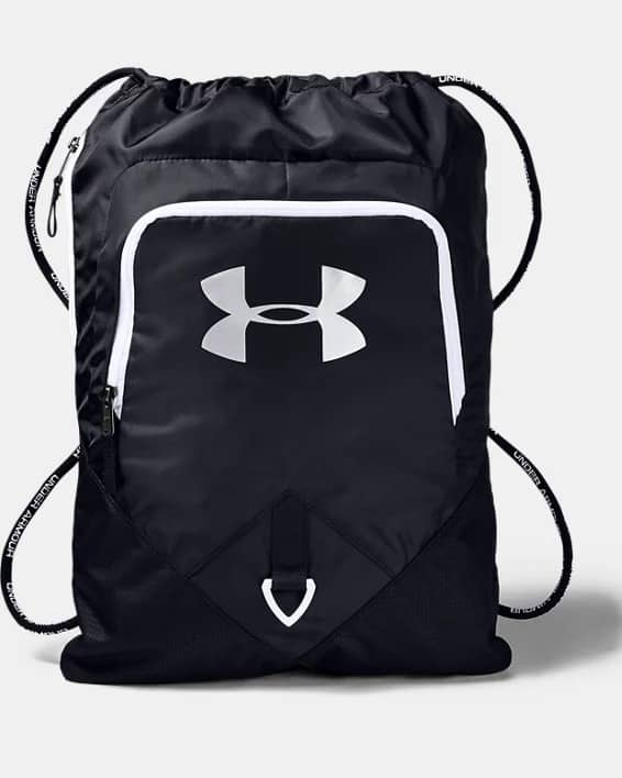 Under Armour Undeniable Sackpack (Black/White)