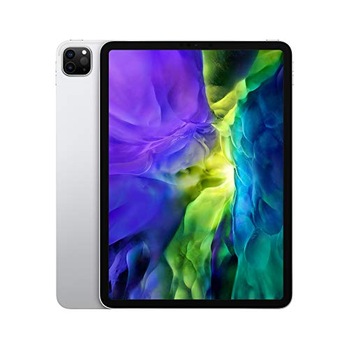 2020 Apple iPad Pro (11-inch, Wi-Fi, 128GB) - Silver (2nd Generation)