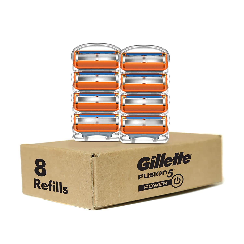 Gillette Fusion Power Men's Razor Blade Refills 8-Pack
