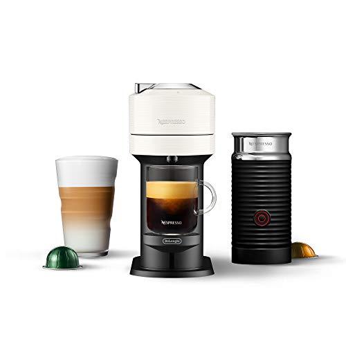 Nespresso Vertuo Next Coffee and Espresso Machine by De'Longhi with Aeroccino