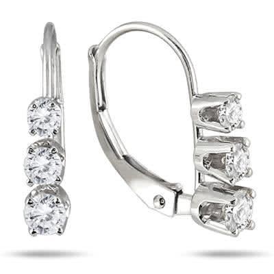 Szul Diamond Hoop Earrings Sale