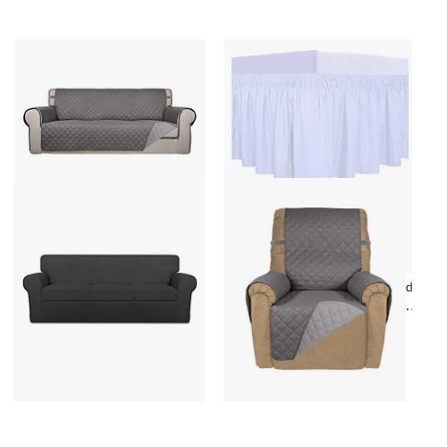 金盒特价!Amazon精选各种沙发套促销!