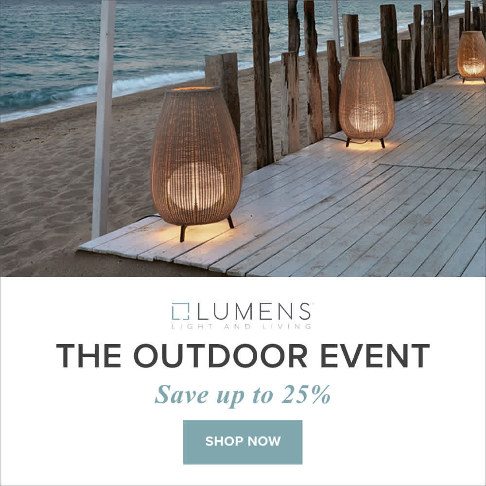Lumens Outdoor Lighting, Decor, and More Sale Event