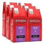 6-Pack 12-Oz Community Coffee French Roast Extra Dark Ground Coffee