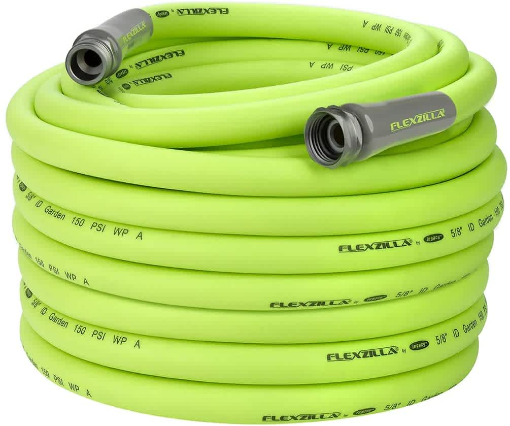 "Flexzilla Heavy-Duty Lightweight 5/8"" 100-Foot Garden Hose"
