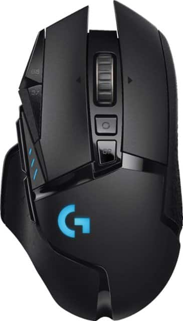 Logitech G502 Lightspeed Wireless Gaming Mouse w/ Lightsync RGB (Black)