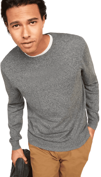 Old Navy Marled Crew-Neck Sweater