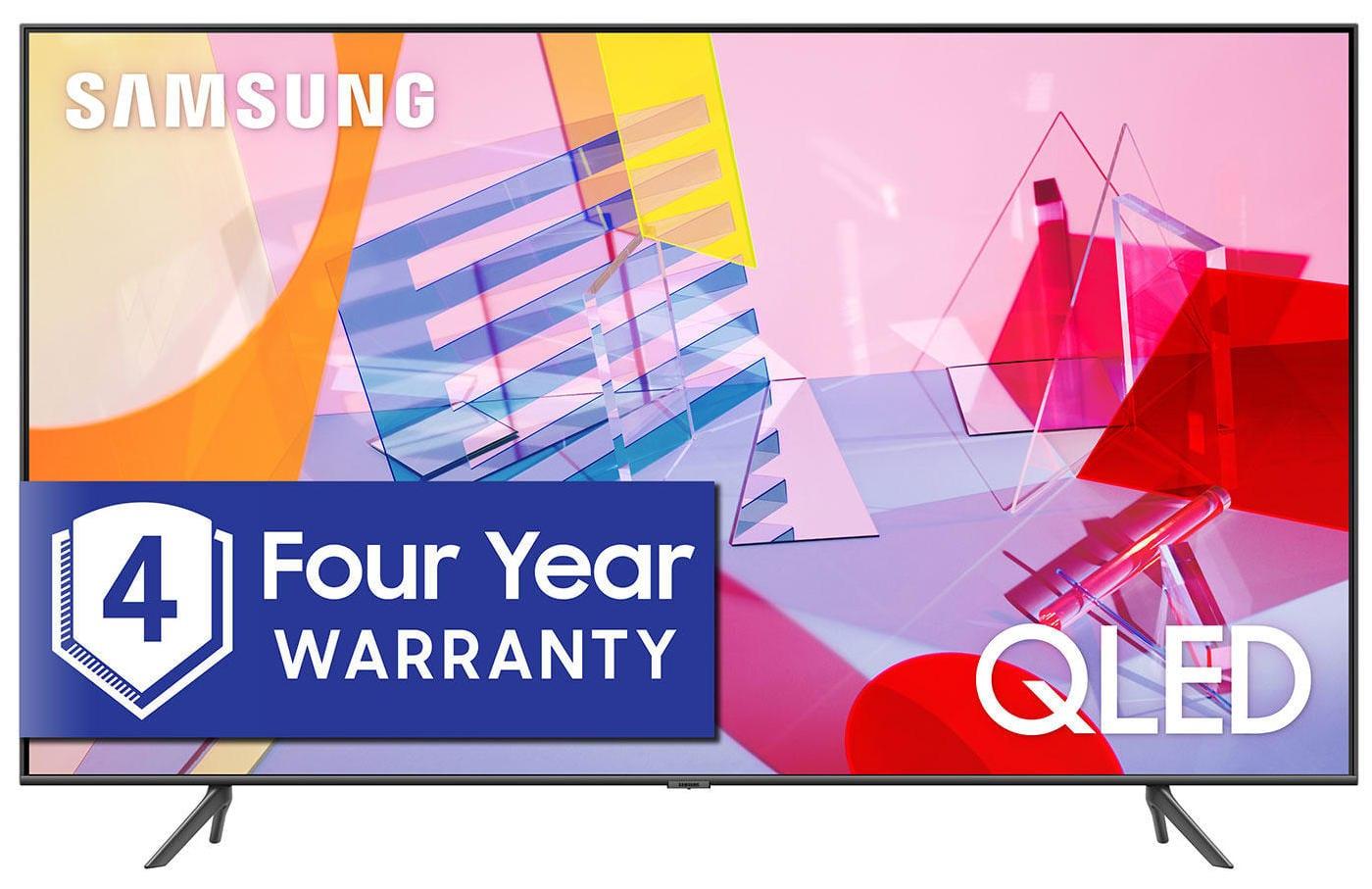 "Samsung Q6-Series QN50Q6DTAFXZA 50"" 4K UHD Smart QLED TV"
