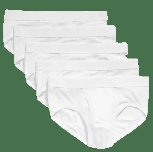 Old Navy Men's Soft-Washed Built-In Flex Briefs 5-Pack