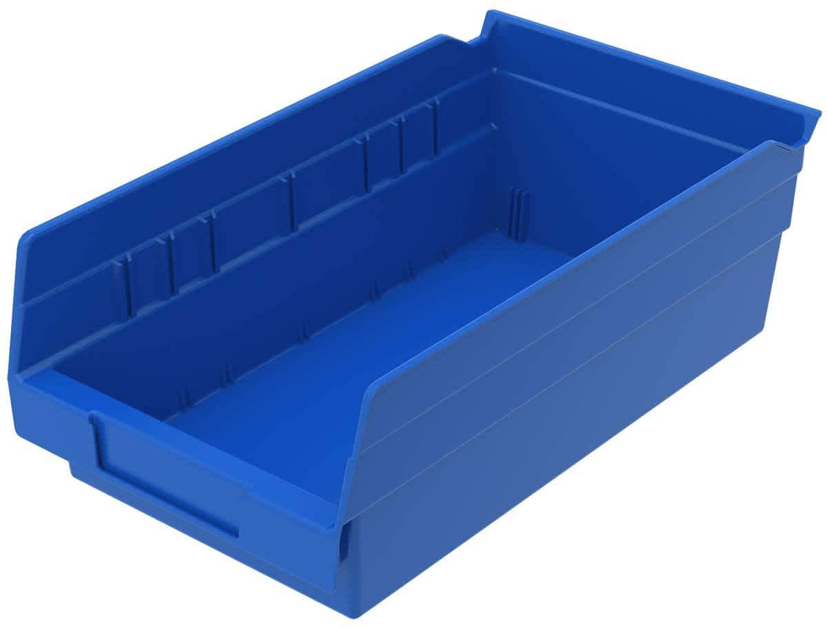 Akro-Mils Nesting Shelf Bin Box 12-Pack