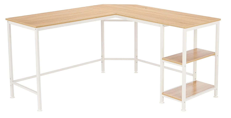 AmazonBasics L-Shape Computer Desk