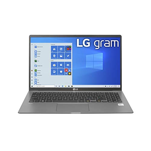 "LG Gram Laptop - 15.6"" Full HD IPS , Intel 10th Gen Core i5-1035G7 CPU, 8GB RAM, 256GB"