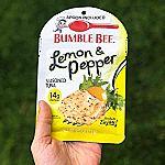 12-pack BUMBLE BEE Lemon & Pepper Seasoned Tuna, 2.5 oz. Pouch
