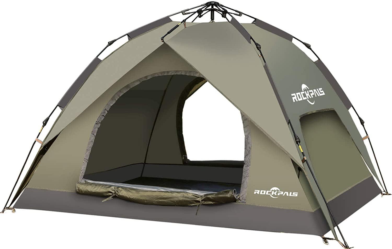 Rockpals 4-Person Pop-Up Tent