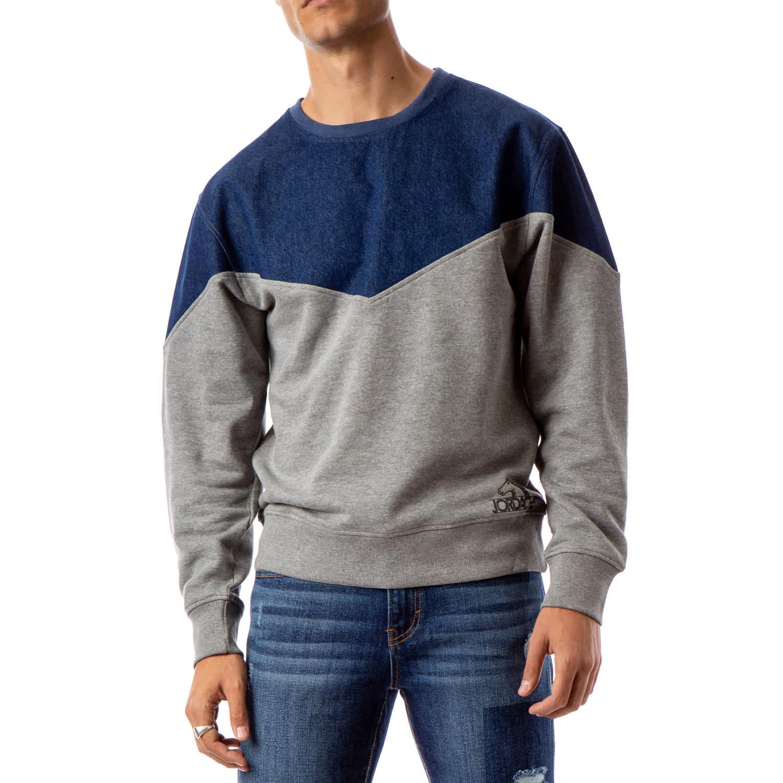 Jordache Vintage Men's Alen Yoke Sweatshirt