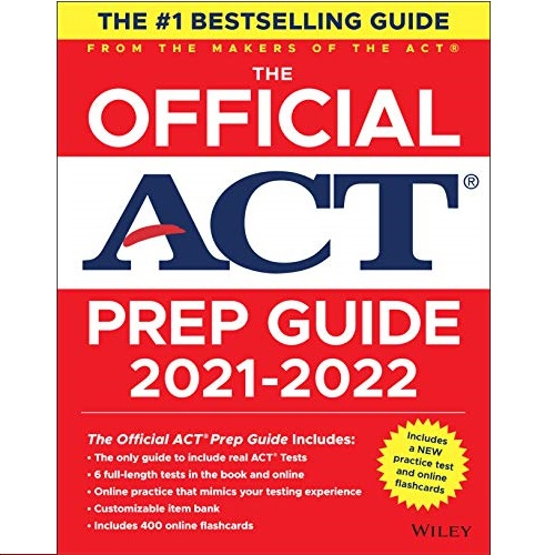 最新版出来了!《The Official ACT Prep Guide, 2021-2022 最新ACT备考官方 指南》