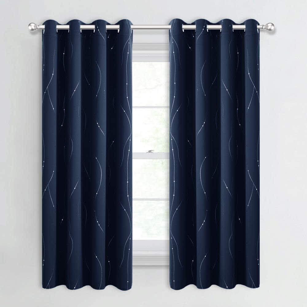 Nicetown Blackout Curtain Panel 2-Pack