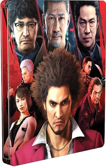 Video Game Steelbook Case: Yakuza: Like a Dragon, Doom Eternal, Battlefield V
