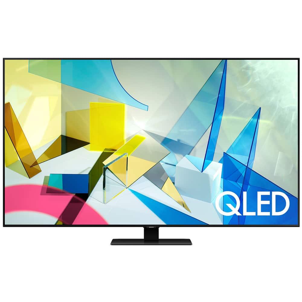 """85"""" QN85Q90TA QLED 4K TV $3499, 85"""" Samsung QN85Q80TA QLED 4K TV"""