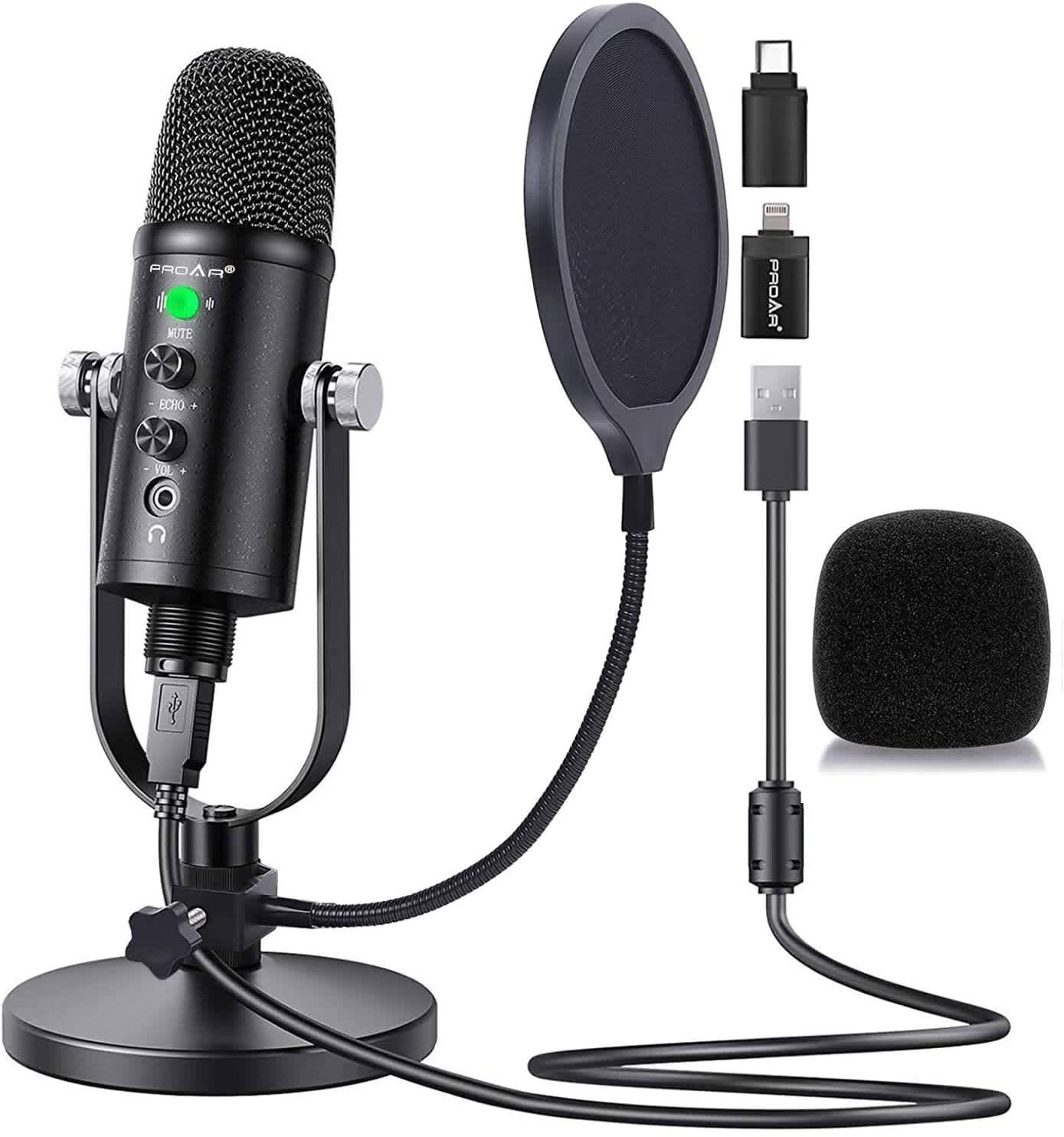 Proar USB Microphone Kit