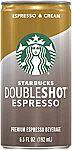12-Pack Starbucks Doubleshot, Espresso + Cream