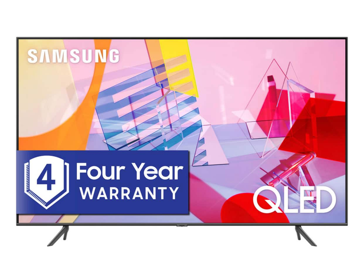 "Sam's Club Members: 82"" Samsung Class Q6DT Series 4K UHD Smart QLED TV (2020)"