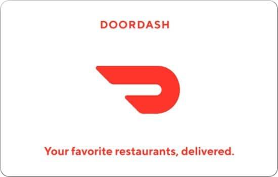 $100 DoorDash eGift Card