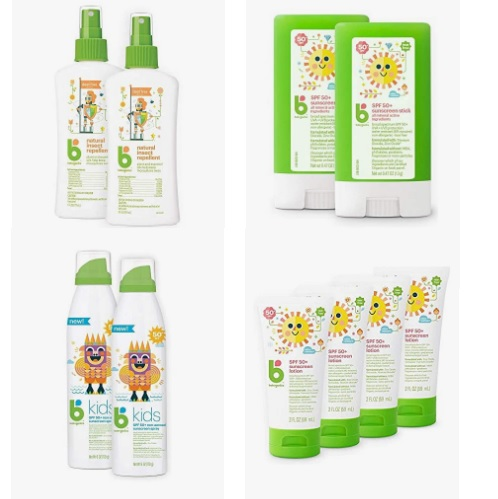 Save on Babyganics Body Sunscreens and Sun Protection