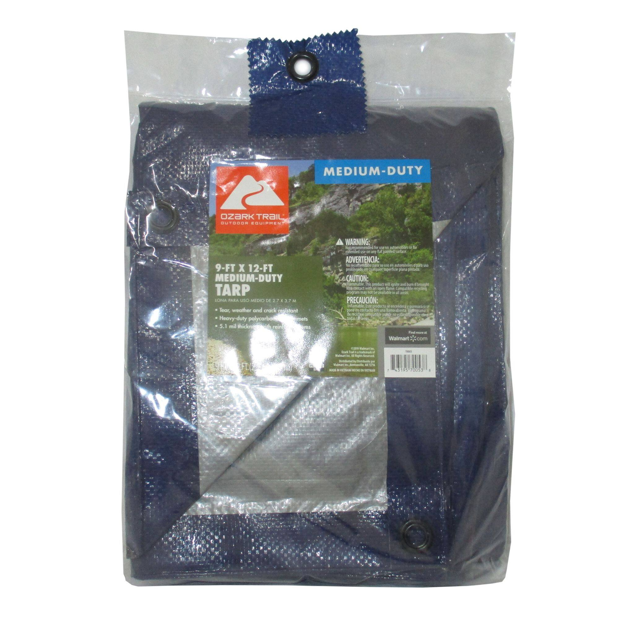 Ozark Trail All Purpose 9' x 12' Medium Duty Tarp