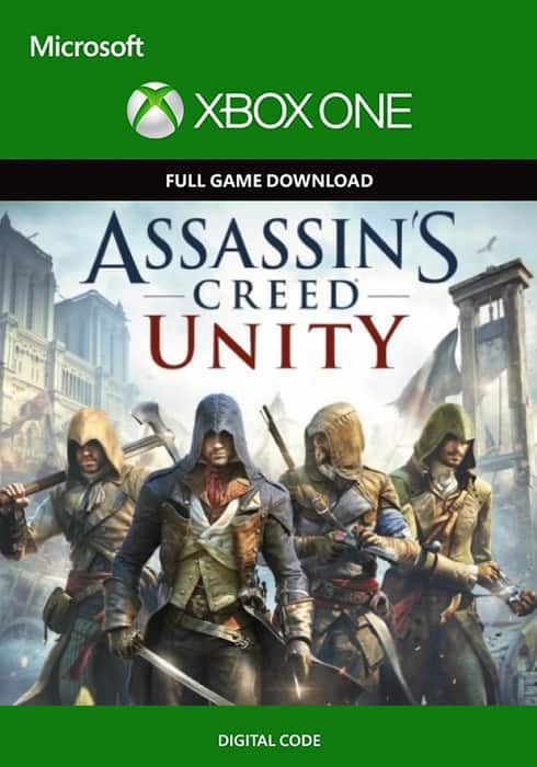 Assassin's Creed Unity (Xbox One / Series S|X Digital Download)