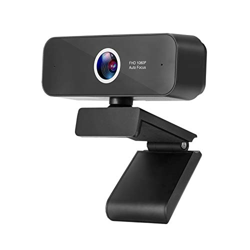 ZUODUN 1080P HD Webcam with Built-in Microphone Autofocus
