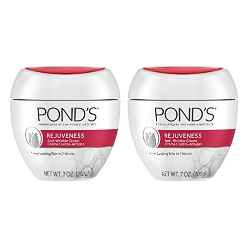 Pond's Rejuveness Anti-Wrinkle Cream Twin Pack, 2 Count (Packaging may vary), List Price is