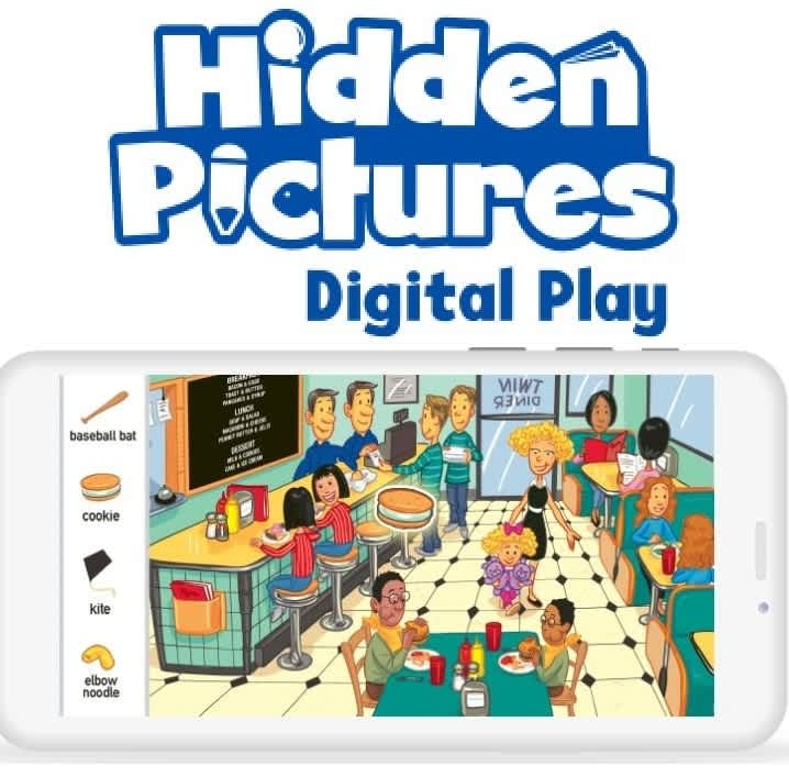 Highlights Hidden Pictures Digital Play