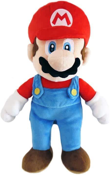 "Little Buddy 9.5"" Super Mario All-Stars Collection Mario Plush"