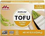 12-Pack 12.3-oz Mori-Nu Silken Extra Firm Tofu