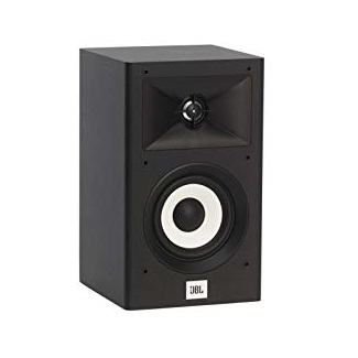 "JBL Stage 120 2-Way Dual 4.5"" Woofers 1"" Alluminum Tweeter Bookshelf Speaker, Now"